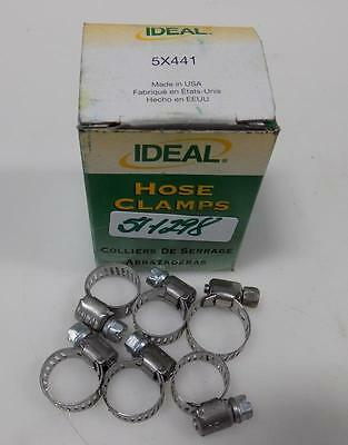IDEAL HOSE CLAMPS 5X441 QTY-6 NIB ()