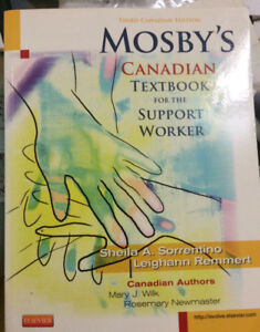 Mosbys canadian text book for the support worker