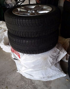 225/60 R18 Michellin X-Ice Winter Tires