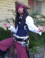PIRATE CHARACTER PARTY PACKAGE
