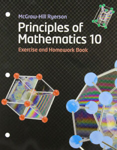 Principles of Mathematics 10 Workbook | SHIPPING AVAILABLE