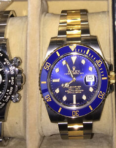 Rolex Submariner, Gold and SS