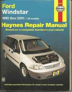 Service Manual for Ford Windstar 1995 to 2001