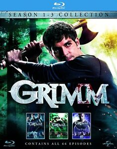 BLU-RAY! GRIMM SEASONS 1-3 BOX SET