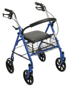 "4 Wheel Rollator with 7.5"" Casters (NEW-Unopened Box)"