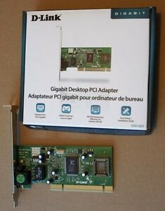 D-Link DGE-530T is a 10/100/1000Mbps Gigabit PCI Netword Card