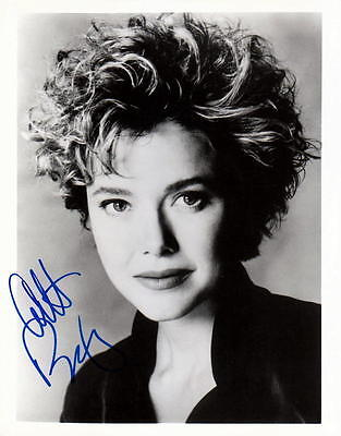 Annette Bening   The Grifters   Signed