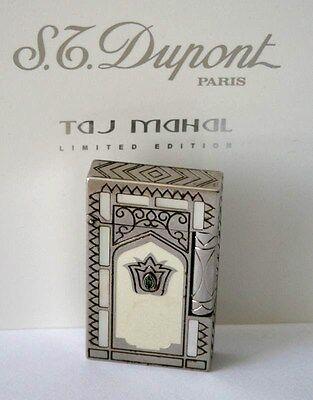 "S.T.DUPONT FEUERZEUG ""TAJ MAHAL"" L2 LIMITED EDITION 2002 LIGHTER FULLSET"