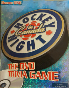 CBC HOCKEY NIGHT IN CANADA THE DVD TRIVIA GAME