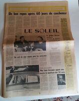 FLQ documentation  affaire Cross Le Soleil,4 décembre '70