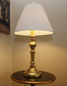 Brass Table Lamp Strathcona County Edmonton Area image 1