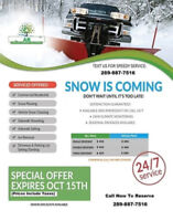 Commercial & Residential Snow Removal - Fully insured