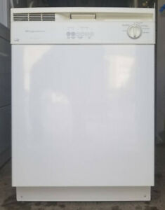 "Frigidaire White, 24"" dishwasher, 1 year  warranty"