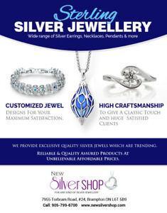 Sterling Silver Jeweller in Brampton