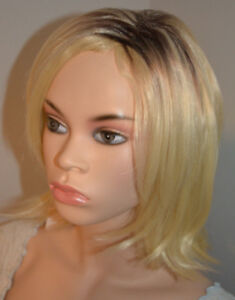 BRAND NEW: Deluxe Straight Shoulder-Length Blonde Bob Wig