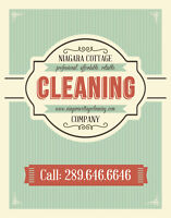 Niagara Cleaning Company. Professional.Affordable.Reliable!
