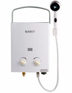 Marey Portable 5L Gas Tankless Water Heater