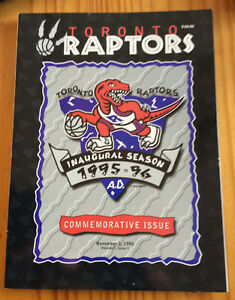 TORONTO RAPTORS - INAUGURAL SEASON, COMMEMORATIVE ISSUE West Island Greater Montréal image 1