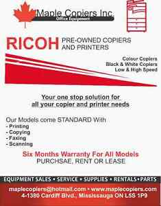Used Copiers and Photocopiers - Off Lease Mint Condition