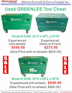 Used #3048 GreenLee with Wheels $275.00-$849.00