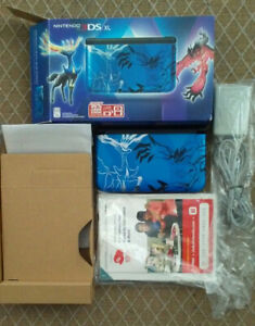Nintendo 3DS XL Pokemon X/Y Blue Edition - complete