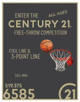 Century 21 Free Throw Basketball Competition - For Easter Seals
