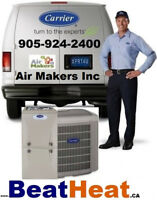 Carrier, Lennox & goodman Air conditioner & Furnace-Winter SALE