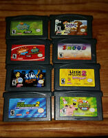 8 Gameboy Advance Games for Kids $15 for the lot