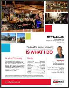 Great Business Opportunity in Beautiful Fairmont Hot Springs