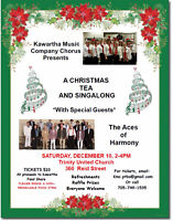 *Tickets Going Fast* Christmas Tea and Singalong