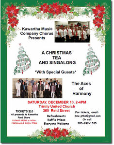 *Tickets Going Fast* Christmas Tea and Singalong Peterborough Peterborough Area image 1