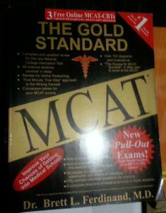 MCAT, DAT and LSAT prep books all for only $40!