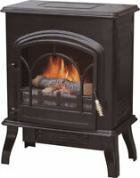 Electric Fireplace with Log Flame Effect a vendre