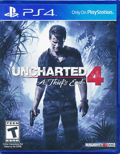 uncharted 4 + just cause 3  contre rise of the tombe raider