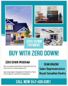 ** BUY A HOUSE WITH ZERO DOWN PAYMENT OR 5% ** FIND OUT HOW