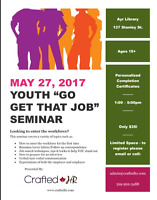 "Youth ""Go Get That Job"" Seminar"