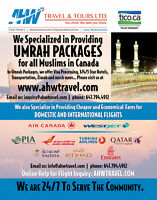 Domestic/International Fare and Umrah Packages