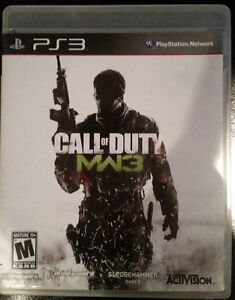 Call of Duty Modern Warfare 3 for PS3