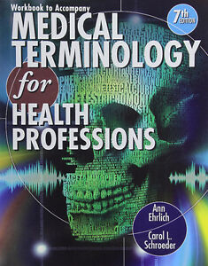 Workbook for Ehrlich/Schroeder Medical Terminology 7th London Ontario image 1