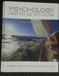 Psychology: Frontiers and Application textbook
