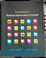Business Math text book ~great condition!