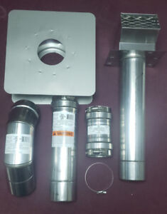 Z-Vent Eccotemp  Horizontal  Gas Vent Compoment Kit