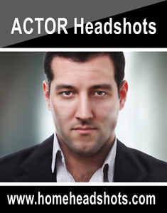 Fast and easy headshots for actors : Mobile Studio West Island Greater Montréal image 1
