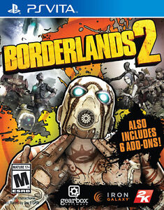 LOOKING FOR A MINT COPY OF BOARDERLANDS 2 FOR PS VITA