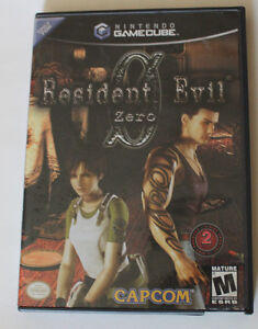 Resident Evil Zero for Gamecube complete in box RE0