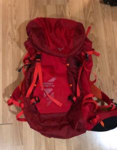 Climbing gear- Osprey 52l Pack