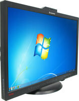 BEAUTIFUL LENOVO 22 INCH MONITOR WITH WEBCAM & MICROPHONE