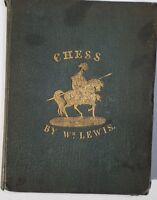 180 year old book - CHESS FOR BEGINNERS, William Lewis, 1835