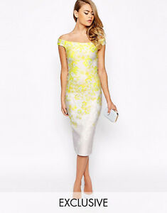 BRAND NEW PENCIL DRESS WITH FLORAL PRINT