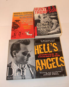 Hunter S Thompson - Set of 4 inc. Hell's Angels &  Rum Diary